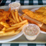 We get scrod, and haddock too, at The Fish House