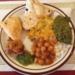 Learning and liking Indian food at Taj Palace