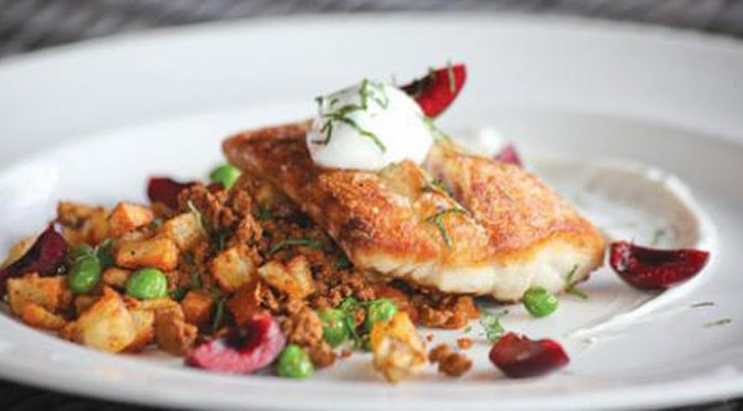 Seared snapper at The Brewery. LEO photo by Frankie Steele.