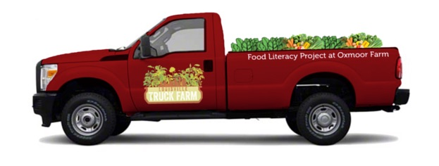 Help Food Literacy Project's Truck Farm hit the road!