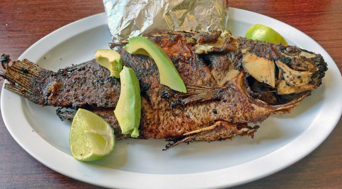 Hablamos y comemos at La Guanaquita Restaurante