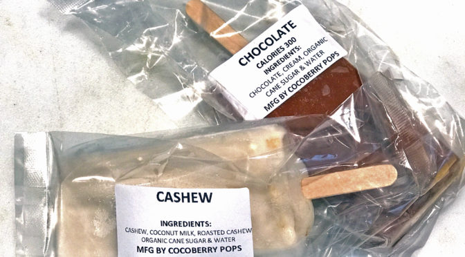 Street food in the South End: Cocoberry Pops