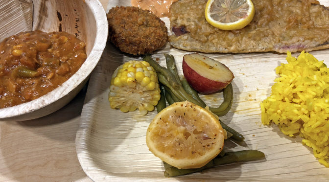 V-Grits works vegan magic with meat-free seafood and fish