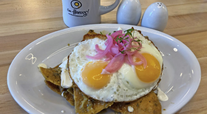 Go East to Con Huevos and Joella's