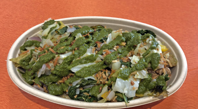 Get your power bowl at plant-based Inwave