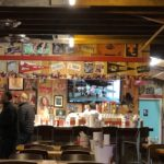 Martin's lands in old Lynn's with decent 'cue, no ugly lamps