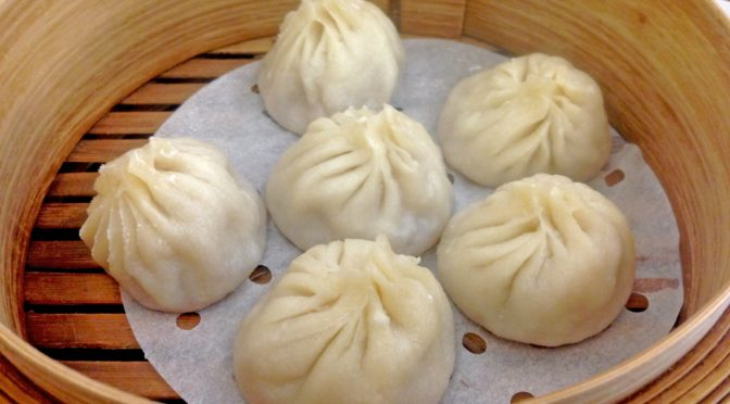 Making Bao with Marcia at Crane House